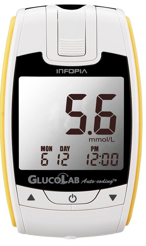 Glukometr GlucoLab + 25 ks proužků