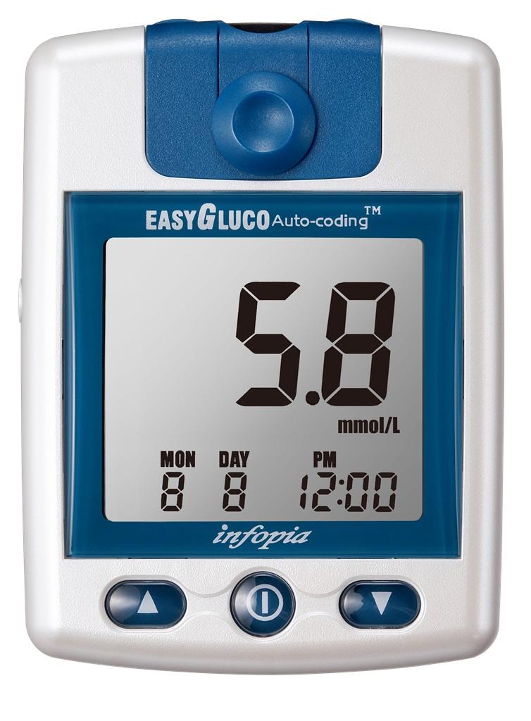 Glukometr EasyGluco + 25 ks proužků
