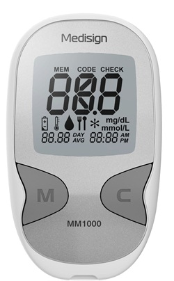 Glukometr Medisign + 10 ks proužků