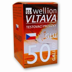 Test.proužky Wellion Galileo - glukóza  50ks