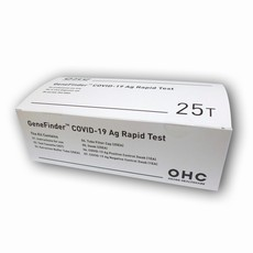 Antigenní test OHC GeneFinder 25 ks