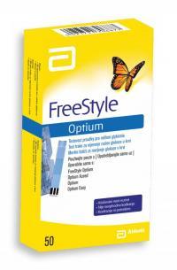 Abbot FreeStyle Optium testovací proužky 50 ks